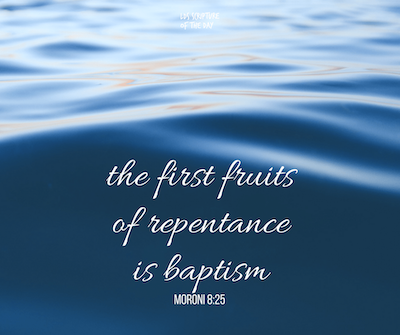 Baptism Quote