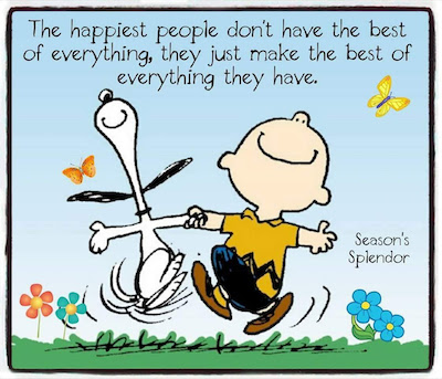 Happiness Quote Charlie Brown