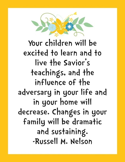 Home Learning Quote Church of Jesus Christ