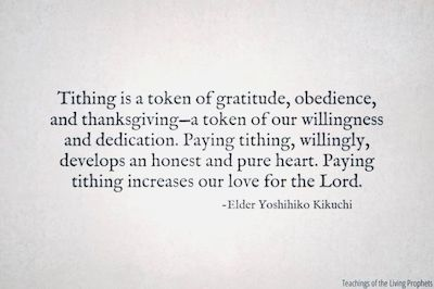 Tithing Quote