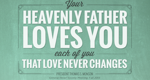 heavenly father quote